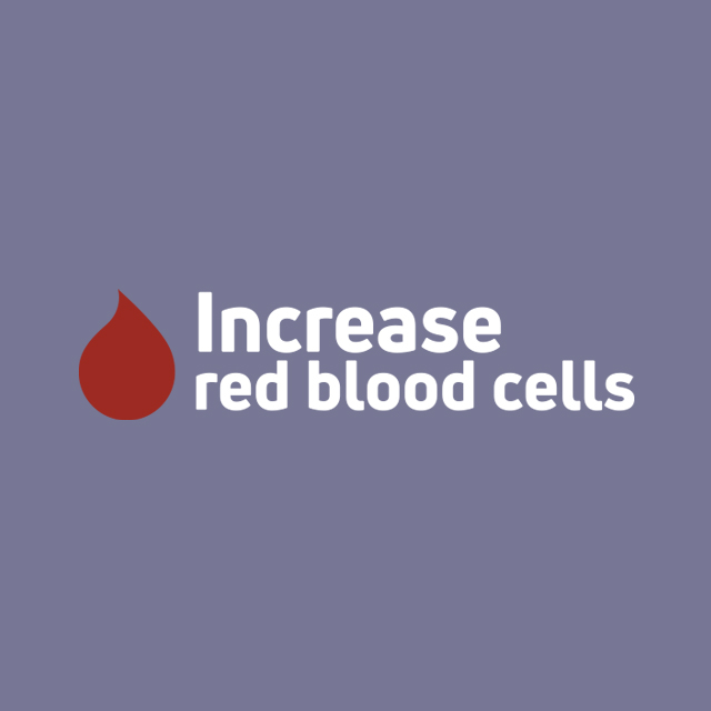 Increase red blood cells